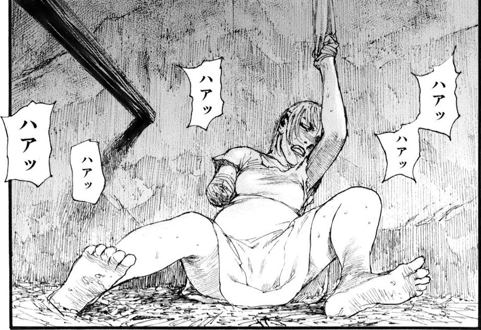 ベアゲルター 沙村広明 一般漫画 エロ 乳首 拷問 拘束