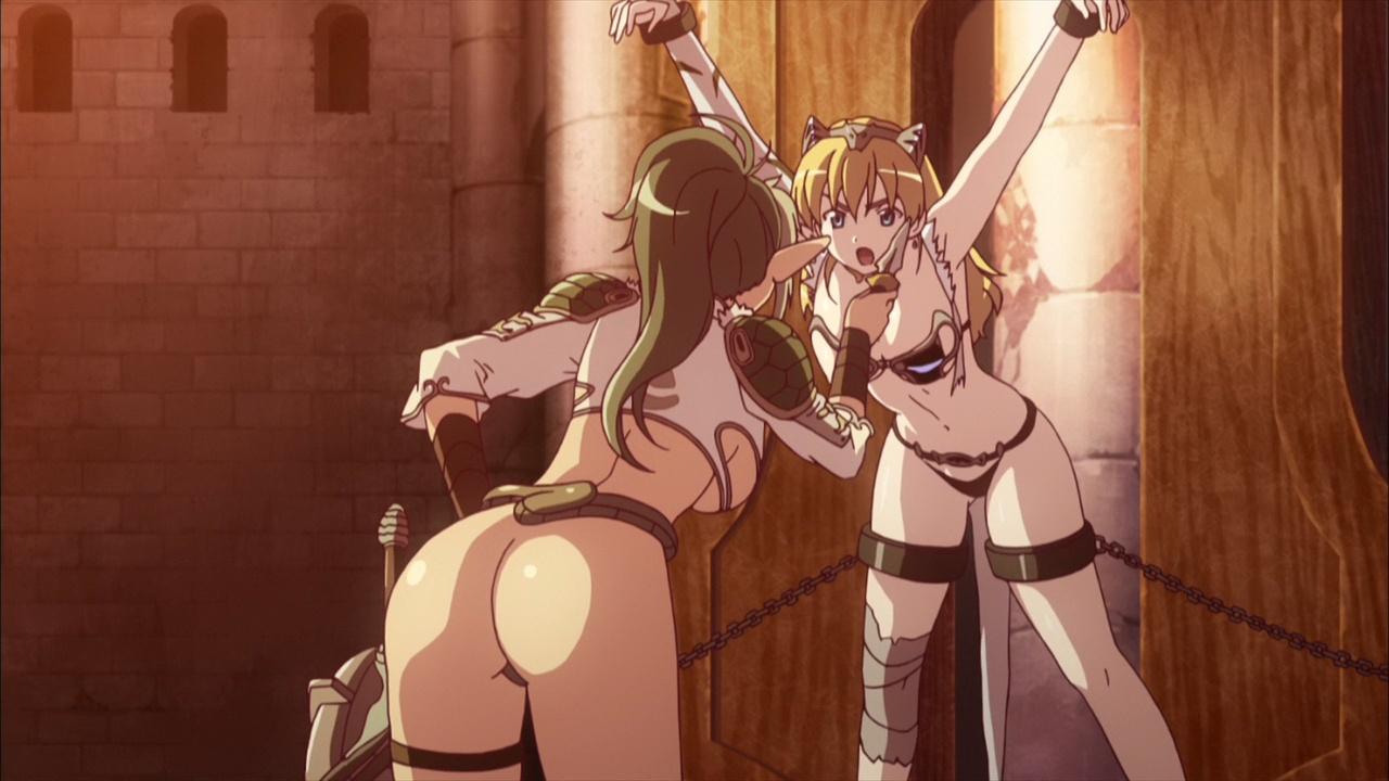 クイーンズブレイド 美しき闘士たち Queen's Blade 水橋かおり 動画 一般アニメ エロ 乳首 拘束 レズ くすぐり 異種姦