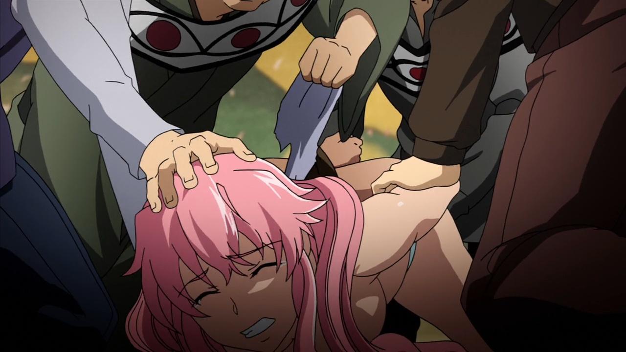 未来日記 えすのサカエ 動画 一般アニメ エロ 乳首 レイプ 輪姦 拘束