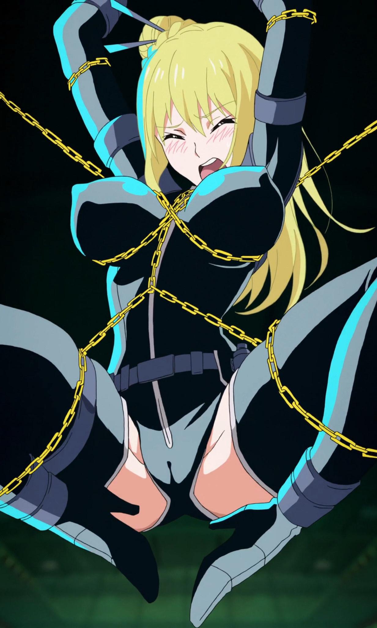 ニンジャスレイヤー Ninja Slayer ナンシー・リー 声優 斎藤千和 一般アニメ エロ 拘束 緊縛 SM 喘ぎ声