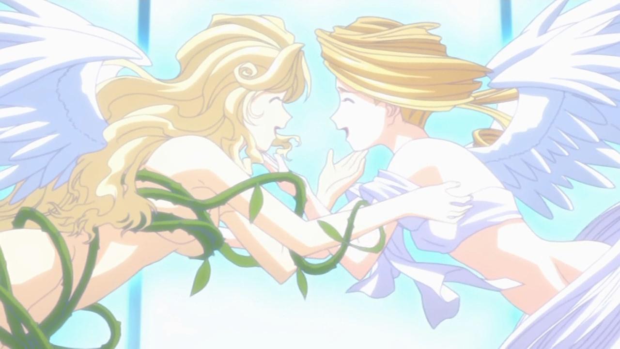 ああっ女神さまっ それぞれの翼 藤島康介 井上喜久子 佐久間レイ 一般アニメ エロ くすぐり レズ 百合 水着